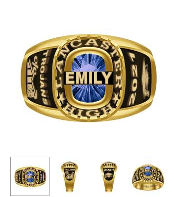 """A slightly more """"retro"""" look ring"""
